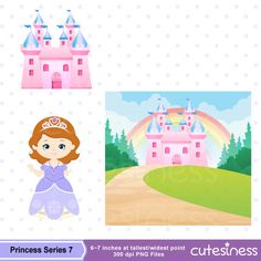 Princess Digital Clipart Princess Clipart Royal family
