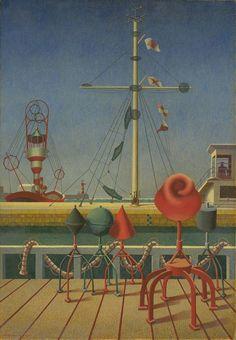 edward wadsworth, 'signals' (1942)