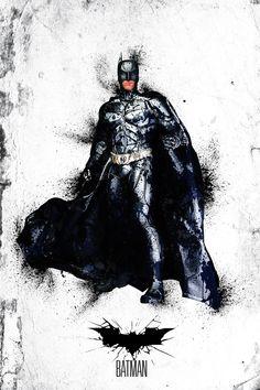 Batman - Breaking Out! by Carl Bannister, via Behance Comic Book Characters, Comic Character, Comic Books Art, Comic Art, Batman Christian Bale, I Am Batman, Batman Art, Posters Batman, Héros Dc Comics