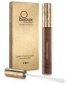 Bijoux Indiscrets Nip Gloss - Dark Chocolate, Essentials www.PlayingNaughty.com