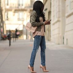 Neutrals Chic by FASHION CLIMAXX member @olivialafabuleuse by fashionclimaxx2