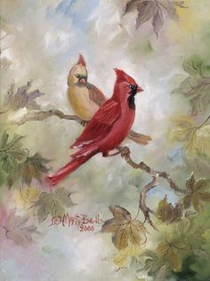 Cardinals  by Marty Bell