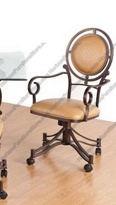 Caster Dining Chairs Nz 10 Best On Rollers Images Table Tempo Industries Bellagio Swivel Tilt Arm Chair With Casters