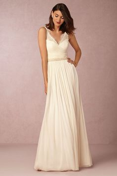 Ivory Fleur Dress | BHLDN