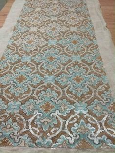 Cross Stitch Love, Counted Cross Stitch Patterns, Cross Stitch Charts, Cross Stitch Embroidery, Embroidery Patterns, Vintage Cross Stitches, Vintage Tablecloths, Floral Rug, Baby Blanket Crochet