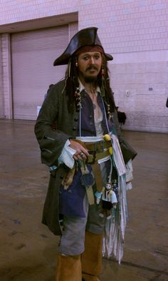 Day 2 - And Captain Sparrow is walking the plank.