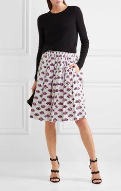 Adretter Stil, Baumwolle, Mode Outfits, Röcke, Popeline, Kleidung, Prada f22ecd01b4