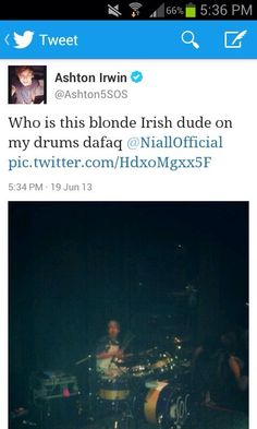 Keep trying Niall, you'll make it into 5 Seconds of Summer one day