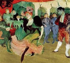 Toulouse-Lautrec, Dance to Moulin Rouge