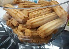 Greek Desserts, Greek Recipes, Sweets Recipes, Cookie Recipes, Greek Cookies, Biscotti Cookies, Shortbread, Apple Pie, Biscuits