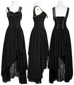 Punk Rave Black Gypsy Dress - £89.99 :From ANGEL CLOTHING