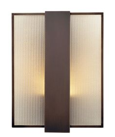 Solis Betancourt Lighting Collection  Transparency Sconce  manufactured by Holly Hunt