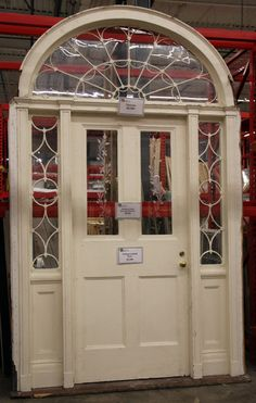 Exceptionnel Deconstructed Door With Transom And Sidelights Available At EcoBuilding  Bargains (Springfield, MA) Architectural
