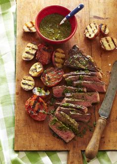 yes please!!! chimichuri and grilled food