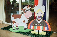 Yana's Dutch Themed Party – Entrance