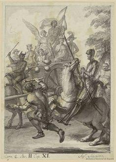 [La carreta de Las Cortes de la Muerte]. Navarro, Agustín 1754-1787 — Dibujo — 1780