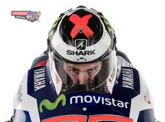 Jorge Lorenzo will be wearing the Race-R PRO, Shark's flagship product, in all races. This model, symbolic of the French helmet brand, is acknowledged to be one of the safest on the market. It features unrivalled optical properties and incomparable aerodynamics. Nowadays, the Race-R PRO is best known in motorcycle World Championships, with over 150 podiums to its credit.