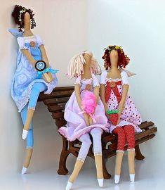 3 Мисс боты конфеты куклы Тильда ... Любишь сладкое?