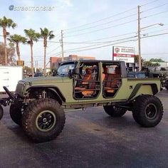 Jeep Monster Mod