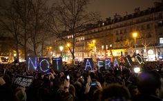 Tens of thousands of people join 150 rallies across France to support freedom of expression following the terrorist attack on the offices of the Charlie Hebdo magazine