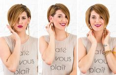 The Trick to Make Your Short Haircut Insanely Versatile via Brit + Co