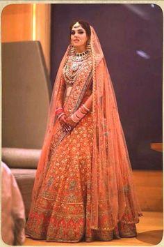 Indian Bridal Outfits, Indian Bridal Fashion, Indian Bridal Wear, Indian Designer Outfits, Indian Dresses, Indian Wedding Lehenga, Wedding Lehenga Designs, Designer Bridal Lehenga, Indian Anarkali