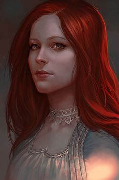 Lady Red by SineAlas.deviantart.com on @DeviantArt