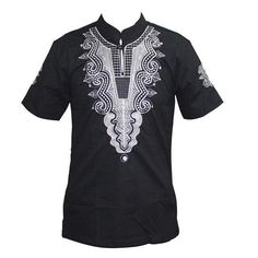 Men's Smart Casual Tops - African Attire for Men African Fashion Men, African Attire For Men, Smart Casual Tops, Embroidery Designs, Collar Styles, Vintage Men, Sleeve Styles, Shirt Style, T Shirt