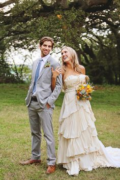 Handcrafted wedding gown made of organic, eco-conscious fabrics.