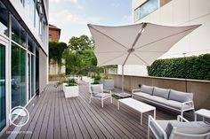 #landscape #architecture #garden #terrace #flowerpot #hedge