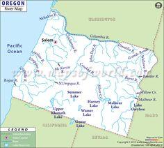 Michigan River Map | #worldmapstore | Pinterest | Rivers, Beautiful ...