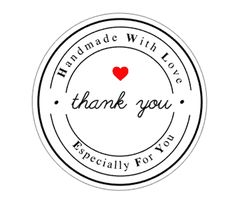 30 Handmade With Love Especially For You Thank You Stickers Round Labels Packaging Stickers Love Stickers, Thank You Stickers, Printable Stickers, Thank You Labels, Packaging Stickers, Handmade Gift Tags, Round Labels, Jar Labels, Scrapbook Paper Crafts