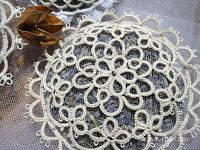 CasaERBA: Free Pattern: lavander sachet with tatting and tulle