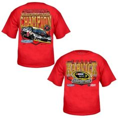 Youth Kevin Harvick Chase Authentics Red 2014 NASCAR Sprint Cup Series Champion T-Shirt