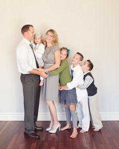 Family of 6. Love this! I think this will be us someday..lol..