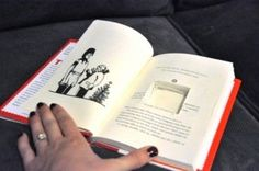 Using a book instead of a pillow
