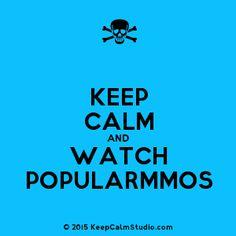 Keep Calm and Watch Popularmmos' design on t-shirt, poster, mug ...
