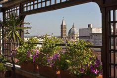 Hotel Diana Roof Garden, Rome  The Diana Hotel Rome is a four-star hotel located in Rome, placed between the main railway station of the city center and the opera theatre in the Esquilino Neighborhood.  http://search.allhotelsin.eu/Hotel/Hotel_Diana_Roof_Garden.htm