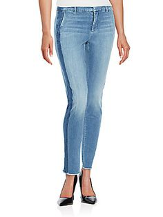 Vince Frayed Ankle Jeans