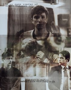 """""""I'm so damn scared of dying without you."""" Simon Monroe and Kieren Walker in the flesh. May I Help You, Bbc Tv Series, Without You, In The Flesh, Movie Posters, Film Poster, Film Posters, Poster"""