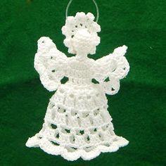Sweet Spring Angel - A free Crochet pattern from Julie A Bolduc.