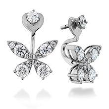 Aerial Diamond Earrings #HOF