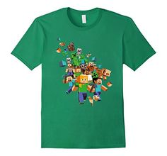 Minecraft Adventure Story Mode Game T-shirt - Male Small - Kelly Green ConnectingDOTS http://www.amazon.com/dp/B019O6FM3K/ref=cm_sw_r_pi_dp_U4qEwb0Y9SFVX