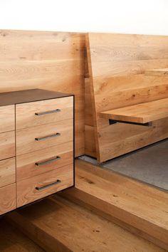 Industrial Look: Wood And Concrete For Giraffe Restaurant, Tel Aviv DesignRulz. Furniture Projects, Furniture Design, Modern Wooden Furniture, Otto Wood, Interior Design Studio, Built Ins, Giraffe, Concrete, Tel Aviv