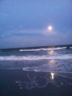 Supermoon 2013, Wrightsville Beach, North Carolina