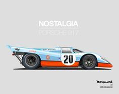 Porsche 917 Art by Benslamin