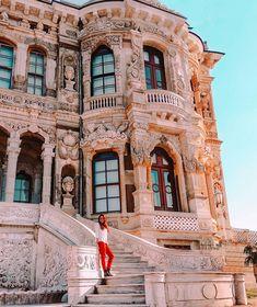 Küçüksu Palace in the asian side of Istanbul. Küçüksu Palast in der asiatischen Seite von Istanbul. The post Küçüksu Palast in der asiatischen Seite von Istanbul. Visit Istanbul, Istanbul Travel, Travel Around The World, Around The Worlds, Places To Travel, Places To Go, Turkey Destinations, Hagia Sophia, Turkey Travel