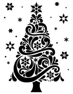 Darice Embossing Folder by Geo Christmas Tree Design and Craft Supply by inch Christmas Tree Star, Christmas Tree Design, Noel Christmas, Christmas Projects, Elegant Christmas, Xmas Tree, Handmade Christmas, Christmas Stencils, Christmas Vinyl