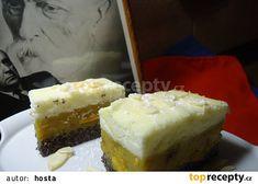 Řezy Sto let recept - TopRecepty. Cheesecake, Food And Drink, Let It Be, Cheesecake Cake, Cheesecakes, Cheesecake Bars