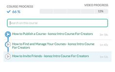 Curate YouTube Playlists Into Free Online Video Courses with Konoz